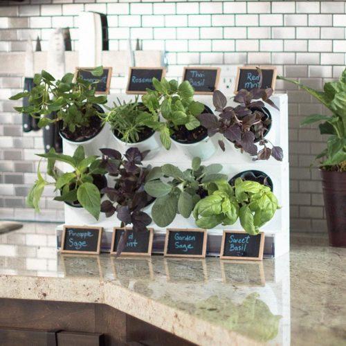 How To Make A Portable Herb Garden