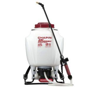 24-volt Extended Spray Time Battery Backpack Sprayer For Fertilizer, Herbicides and Pesticides