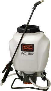 Chapin 63980 Black & Decker 4-Gallon Wide Mouth Battery Sprayer Backpack