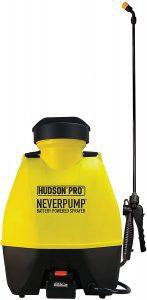HUDSON 19001 Outdoor Roller Shades 4 Gallon NeverPump Bak-Pak Sprayer