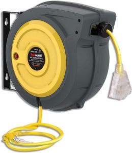 REELWORKS Extension Cord Reel Retractable