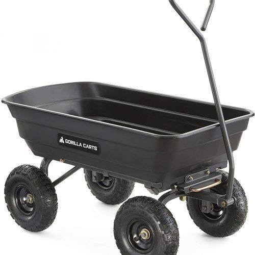 Best Garden Cart For Seniors (Easy, Affordable & Strong)
