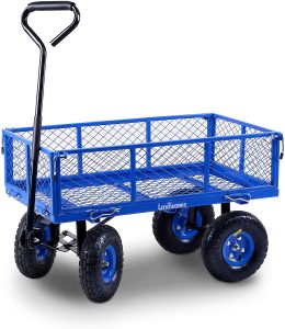 Landworks 2103Q044A Heavy Duty Lawn:Garden Utility Cart