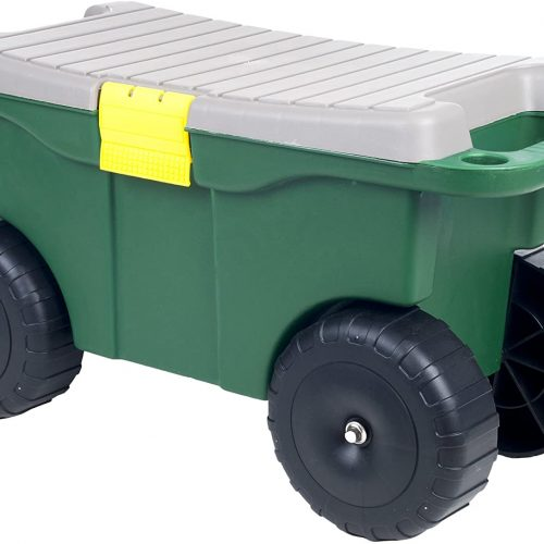 Best Rolling Garden Cart with Seat
